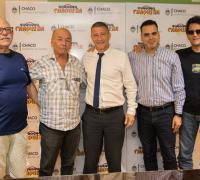 Oscar Brugnoli con Molodezky, Altamirano, Flores y Carauni