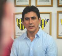Roberto Acosta, titular de la Liga Chaqueña. (Foto NORTE)