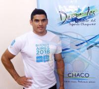 Matías Robledo,  25 años y nacido en Bella Vista, Corrientes. Es profesor de Educación Física y capacitador del Enard en la Zona del Litoral.