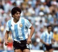 Rubén Galván, defensor titular de Argentina 78