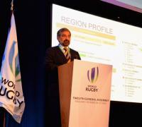 Carlos Barbieri, presidente de Sudamerica Rugby