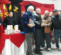 San Fernando homenajeando a los históricos del club