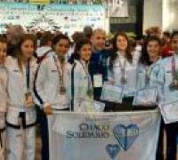 Ailen y Milagros Acosta con  Seleccion Argentina Sub Campeones del Mundo.