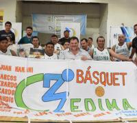 Exitoso troneo de Basquetbol sobre sillas de ruedas en Corzuela