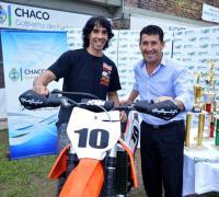 David Sona junto a Juan C. Argüello