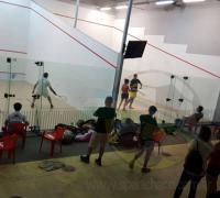 Disputa del torneo de Squash