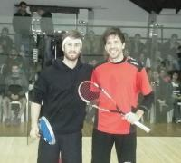 Leandro Romiglio-Robertino Pezzota, las dos mejores raquetas del país que debutan hoy en octavos