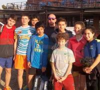 La delegación chaqueña de Squash en Tucumán.
