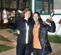 La pareja que llego a la final fue Vivas-Melli que cayo contra una pareja paraguaya en un duro partido.