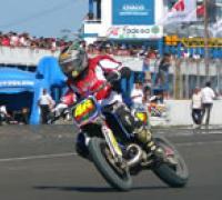 Gandola subcampeón 2006 en el Supermotard