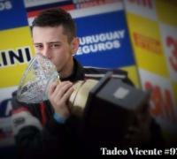 Vicente Tadeo defiende la punta en Oberá