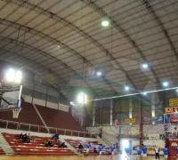 La cubierta del estadio de Regatas totalmente remozada.