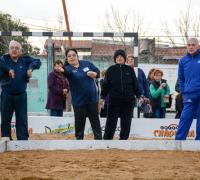 Los adultos mayores y los Juegos Evita