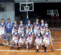 Equipo femenino U 15 de Villa San Martín