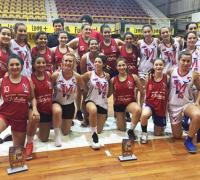 Jugadoras de Hércules y Villa, campeonas y subcampeonas del femenino provincial
