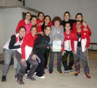 Las chicas de voleibol de Regaas Resistencia