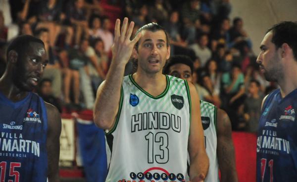 Guaita fue el jugador de Hindú que logró más puntos al marcar 15.