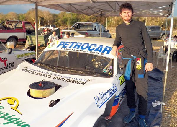 Alexis Moschen tuvo una buena clasificación en el TC Chaqueño.