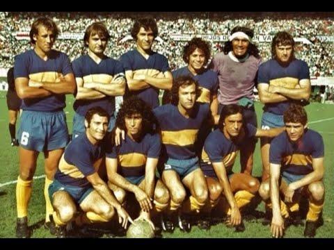Boca Juniors campeón de la Copa Libertadores 1977