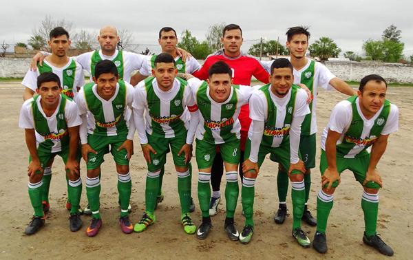 Plantel de Defensores de Vilelas, actual líder del Oficial de fútbol.