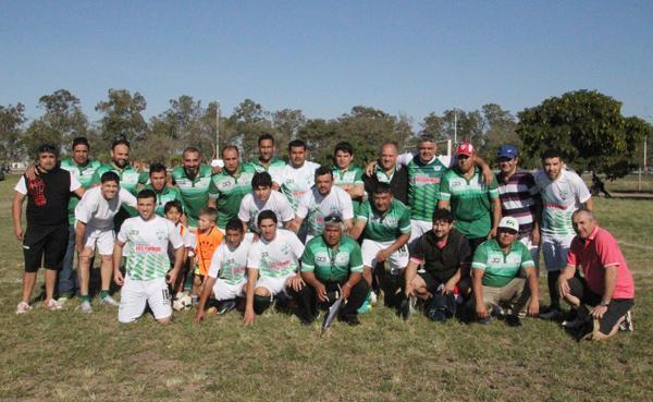 Despamparados ganó en Maxi A a Osvaldo cArdozo 2 a 0