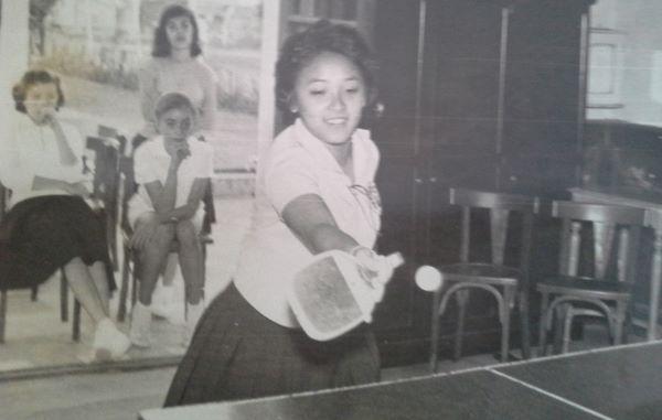 Elsa Takahashi campeona argentina de tenis en 1969