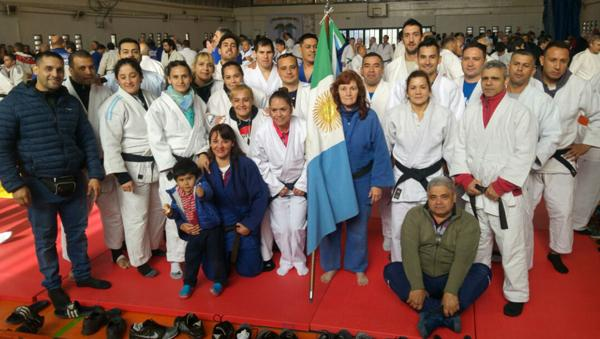 Judokas chaqueños en Villa Carlos Paz, Córdoba