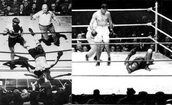 Díadel boxeador Argentino por la pelea Firpo - Dempsey
