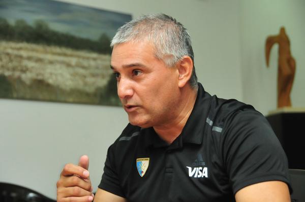 Aldo Effenberger, presidente de la FCHH