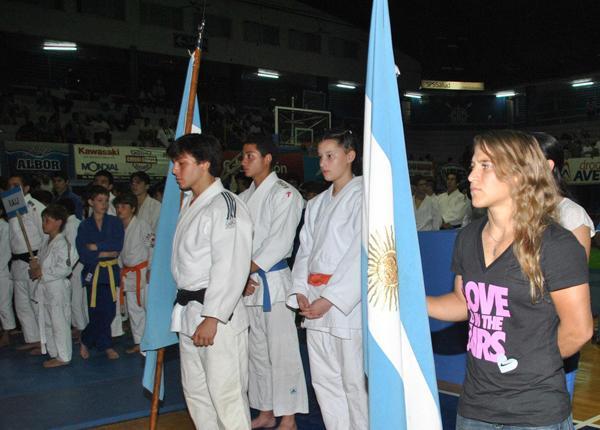 Judo con la Copa Chaco en disputa el pasado sábado en Don Bosco