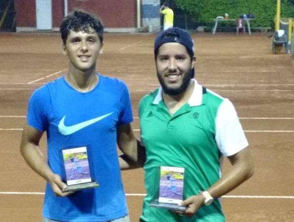 Julian Cundom y Alejandro Dure, campeón y finalista de primera.