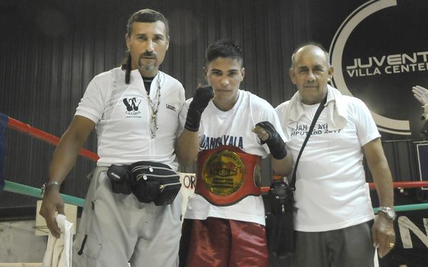 Lucas Gallo animará el combate de fondo con Guillermo Alvarez de Huracán Las Breñas.