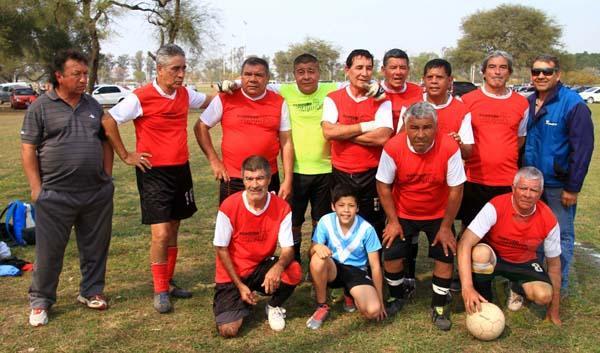 El equipo Master de Luzuriaga