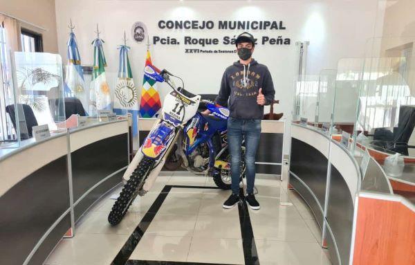 Lautaro Medina recibió reconocimiento