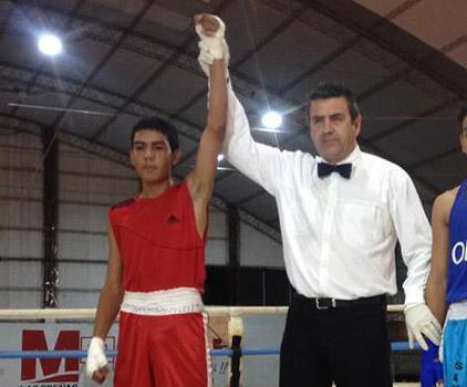 Exequiel Manrique campeón