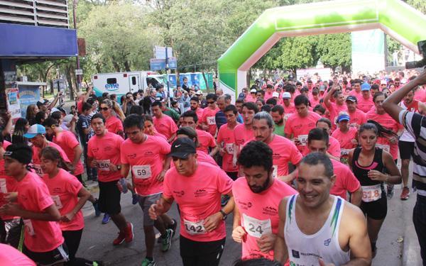 Laragada de la edición 2017 de la Maratón de la Cámara de Comercio