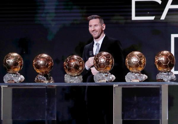 Messi sumó su sexto balón de oro