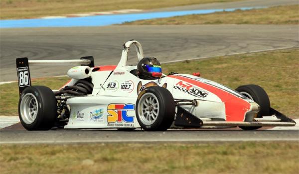 Adrián Melnyk en la F3 Santafesina