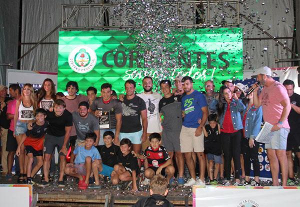 Triunfadores del Seven con la Copa Challenger