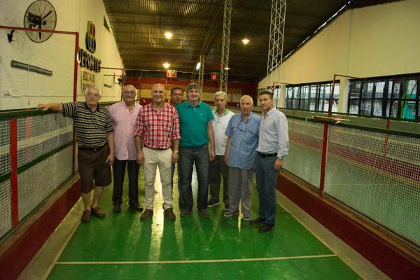 Las remozadas instalaciones de Paykin recibirán el torneo de las estrellas