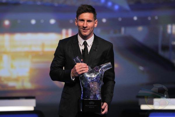 Lionel Messi, consiguió el galardón por segunda vez.