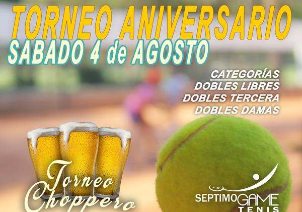 Torneo Aniversario Septimo Game Tenis