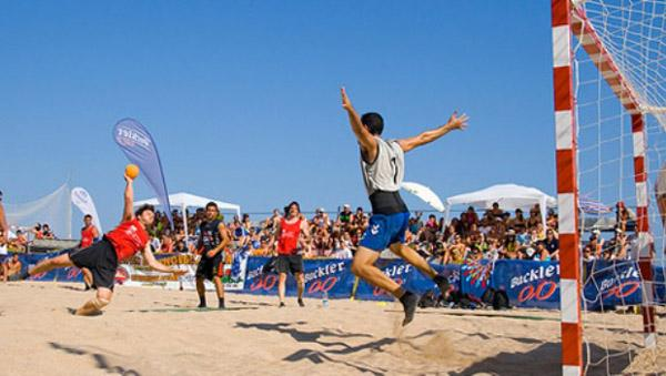"""Se viene el II Torneo Oficial de beach handball, denominado """"Nueva Pasión a Futuro""""."""