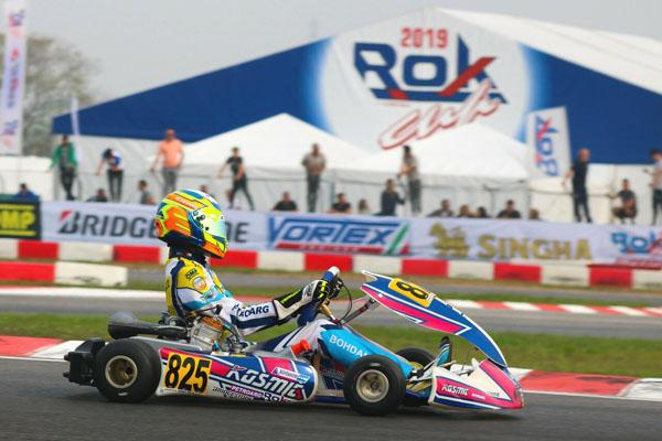 Lucas Bohdanowicz en Lonato, Italia