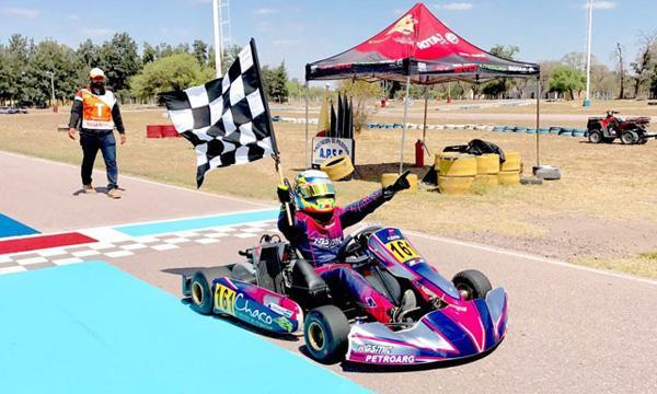 Lucas Bohdanowicz campeón de la RMC . Foto: © Teresita Blanco