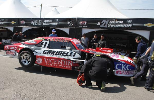 Augusto Carinelli el más rápido en TC pista