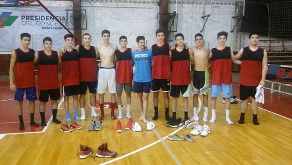 Preseleccionado U15 de bàsquet concentrará en Charata