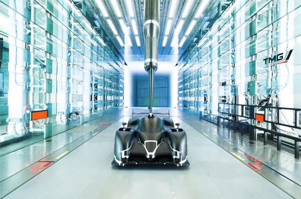 - Túnel de viento en Toyota Motorsport, donde se trabajará con el Corolla de STC2000.Crédito: Toyota Motorsport GmbH
