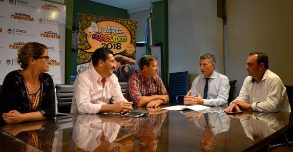 Lotería Chaqueña, el Instiuto del Deporte y Unión firmaron acuerdo