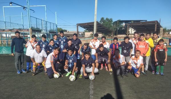 El encuentro realizado por Desocha con la participación de chicos de toda la región